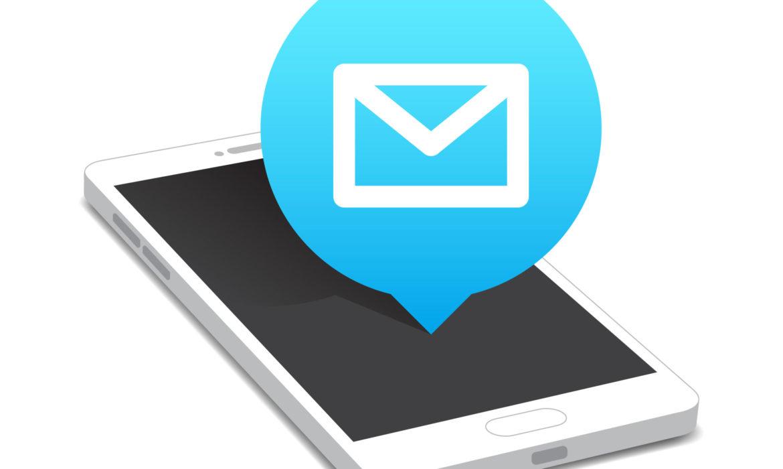 E-mail opstellen op telefoon